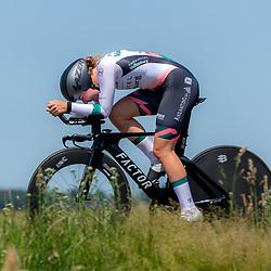 EMMEN (NED) June 16: <br />CYCLING <br />Dutch Nationals Time Trail Women Elite Femke Marcus