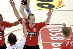 05-03-2006 VOLLEYBAL: FINAL 4 HEREN:  ORION - ORTEC NESSELANDE: ROTTERDAM<br /> In een mooie finale was Nesselande in 3 sets te sterk voor Orion / Kristian van der Wel<br /> Copyrights2006-WWW.FOTOHOOGENDOORN.NL