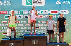 Tenis Fest Tennis tournament, on August 21, 2020 in SC Marina, Portoroz / Portorose, Slovenia. Photo by Nik Moder / Sportida