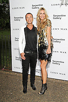 LONDON - JUNE 26: Julien Macdonald;  Melissa Odabash attended the Serpentine Gallery summer party, Kensington Gardens, London, UK. June 26, 2012. (Photo by Richard Goldschmidt)