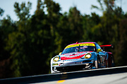September 30-October 1, 2011: Petit Le Mans at Road Atlanta. 045 Joerg Bergmeister, Patrick Long, Patrick Pilet, Porsche 911 GT3 RSR, Flying Lizard Motorsports