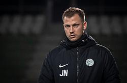 Cheftræner Jacob Neestrup (Viborg FF) under kampen i 1. Division mellem Viborg FF og FC Helsingør den 30. oktober 2020 på Energi Viborg Arena (Foto: Claus Birch).
