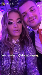 EXCLUSIVE ALL ROUNDER Rita Ora poses in this series of social media pictures at a family members wedding in Tirana, Albania. Rita and her sister Elena Ora were bridesmaids.<br /><br />5 June 2017.<br /><br />Please byline: Supplied by Vantage News<br /><br />Vantage News does not claim any copyright or licence in the attached material any  downloading fees charged by Vantage News are for Vantage News services only, and do not, nor are they intended to, convey to the user any copyright or licence in the material. By publishing the material, the user expressly agrees to indemnify and to hold Vantage News harmless from any claims, demands, or causes of action arising out of or connected in any way with user's publication of the material.