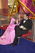 Rixa duchess of Oldenburg, Michel Soyer. Mr. and Mrs. Andy Wong Chinese Year of the Dragon. Millenium Dome. 29/1/2000.<br />© Copyright Photograph by Dafydd Jones<br />66 Stockwell Park Rd. London SW9 0DA<br />Tel 0171 733 0108. wwwdafjones.com