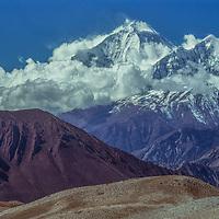 8167-meter Dhaulagiri I towers above the Kali Gandaki Valley in Nepal.