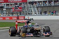 MOTORSPORT - F1 2013 - GRAND PRIX OF CANADA - MONTREAL (CAN) - 07 TO 09/06/2013 - PHOTO ERIC VARGIOLU / DPPI VERGNE JEAN-ERIC (FRA) - TORO ROSSO STR8 FERRARI - ACTION