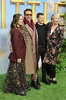 Susan Downey, Robert Downey Jr, Harry Collett and Emma Thompson, Dolittle Special Screening, Leicester Square, London, UK, 25 January 2020, Photo by Richard Goldschmidt