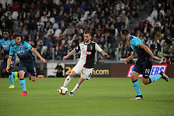 May 19, 2019 - Turin, Turin, Italy - Miralem Pjanic #5 of Juventus FC in action during the serie A match between Juventus FC and Atalanta BC at Allianz Stadium on May 19, 2019 in Turin, Italy. (Credit Image: © Giuseppe Cottini/NurPhoto via ZUMA Press)