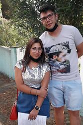 MIRIAM FOGLI E ALEX TOMASI<br /> PUNTO VACCINALE VIALE DA VINCI LIDO SPINA