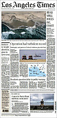 October 04, 2021 - USA: Front-page: Today's Newspapers In United States