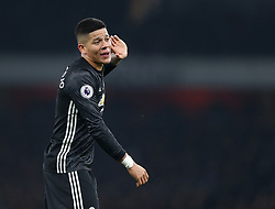 02 December 2017 London : Premier League Football : Arsenal v Manchester United - Marcos Rojo of United.<br /> (photo by Mark Leech)