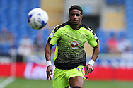Gareth McCleary of Reading in action.EFL Skybet championship match, Cardiff city v Reading at the Cardiff city stadium in Cardiff, South Wales on Saturday 27th August 2016.<br /> pic by Andrew Orchard, Andrew Orchard sports photography.
