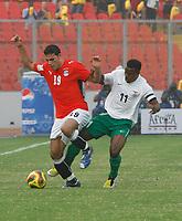 Photo: Steve Bond/Richard Lane Photography.<br />Egypt v Zambia. Africa Cup of Nations. 30/01/2008.