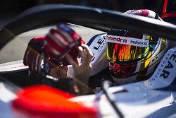 October 17, 2018 - Valencia, Spain - WEHRLEIN Pascal (deu), MAHINDRA RACING Team portrait during the Formula E official pre-season test at Circuit Ricardo Tormo in Valencia on October 16, 17, 18 and 19, 2018. (Credit Image: © Xavier Bonilla/NurPhoto via ZUMA Press)