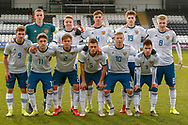 Russia Squad during the U17 European Championships match between Scotland and Russia at Simple Digital Arena, Paisley, Scotland on 23 March 2019.