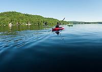Corey and Janelle kayaking July 2012.