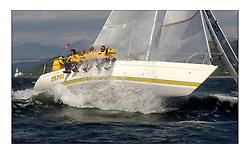 Yachting- Kip Regatta - Pepsi - winner of Sigma 33 class breaking off a wave in perfect conditions...Marc Turner / PFM