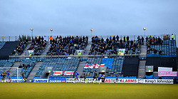 Bristol Rovers fans at Gillingham - Mandatory by-line: Robbie Stephenson/JMP - 16/12/2017 - FOOTBALL - MEMS Priestfield Stadium - Gillingham, England - Gillingham v Bristol Rovers - Sky Bet League One