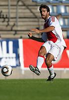 Fotball<br /> 08.07.2010<br /> Foto: Gepa/Digitalsport<br /> NORWAY ONLY<br /> <br /> Niederlaendische Eredivisie, Egyptian Premier League, AFC Ajax Amsterdam vs Al Ahly Cairo<br /> <br /> Bild zeigt Oleguer Presas (Ajax)