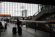 A view of Berlin's Berlin Central Train Station (Berlin Hauptbahnhof) in Berlin, Germany, April 09, 2012.