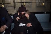 Julia and John Barnhart, Dom Perignon and Claudia Schiffer host a celebration of Dom Perignon Oenotheque 1995. The Landau, Portland Place. London W1. 26 February 2008.  *** Local Caption *** -DO NOT ARCHIVE-© Copyright Photograph by Dafydd Jones. 248 Clapham Rd. London SW9 0PZ. Tel 0207 820 0771. www.dafjones.com.
