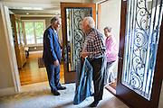 San Jose State University's Heritage Society hosts its annual President's Reception at San Jose State University President Mohammed Qayoumi's home in San Jose, California, on June 4, 2015. (Stan Olszewski/SOSKIphoto)