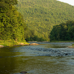 The West River in Dummerston, Vermont.  Connecticut River Tributary.