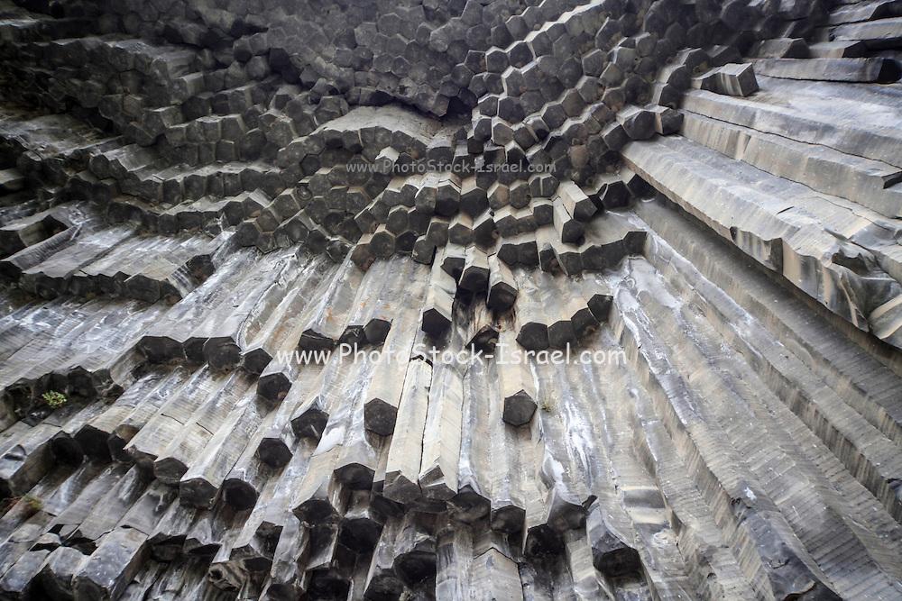 "Basalt Rock columns formations,  (""Symphony of the Stones""), Garni Gorge, Armenia"