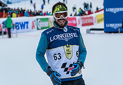20.01.2018, Hahnenkamm, Kitzbühel, AUT, FIS Weltcup Ski Alpin, Kitzbuehel, Kitz Charity Trophy, im Bild David Arroyo // David Arroyo during the Kitz Charity Trophy of the FIS Ski Alpine World Cup at the Hahnenkamm in Kitzbühel, Austria on 2018/01/20. EXPA Pictures © 2018, PhotoCredit: EXPA/ Stefan Adelsberger