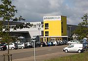 Amazon distribution centre headquarters Swansea, West Glamorgan, South Wales, UK