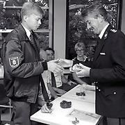 NLD/Amersfoort/19920710 - Installatie nieuwe stadswachten in Amersfoort