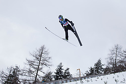 Vid Vrhovnik during testing jumps at Ski jumping Flying Hill One day before FIS World Cup Ski Jumping Final Planica 2018, on March 21, 2018 in Ratece, Planica, Slovenia. Photo by Urban Urbanc / Sportida