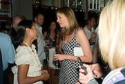 LILIANNE VON STAUFFENGERG; COSIMA VON BULOW, Book launch party for  Sashenka, a romantic novel set in St Petersburg following a society girl who becomes involved with the Communist Party. By Simon Sebag-Montefiore. Asprey. New Bond St. London. 1 July 2008.  *** Local Caption *** -DO NOT ARCHIVE-© Copyright Photograph by Dafydd Jones. 248 Clapham Rd. London SW9 0PZ. Tel 0207 820 0771. www.dafjones.com.