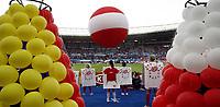 GEPA-2906081361A - WIEN,AUSTRIA,29.JUN.08 - FUSSBALL - UEFA Europameisterschaft, EURO 2008, Deutschland vs Spanien, GER vs ESP, Finale. <br />Bild zeigt die Eroeffnungsfeier. Keywords: Eroeffnung, Oesterreich, Fahnen, Luftballon, Ballon.<br />Foto: GEPA pictures/ Guenter R. Artinger