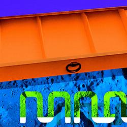 Mid Century Sidebeard Futuristic Pop Art in bold colours
