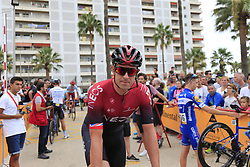 Ian Stannard (GBR) Team Ineos arrives at sign on before the start of Stage 4 of La Vuelta 2019 running 175.5km from Cullera to El Puig, Spain. 27th August 2019.<br /> Picture: Eoin Clarke | Cyclefile<br /> <br /> All photos usage must carry mandatory copyright credit (© Cyclefile | Eoin Clarke)