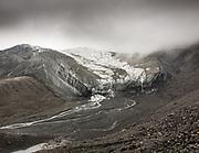 The Qarun glacier in the Karakoram.