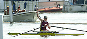 Henley. England. Lightweight Women;s single Sculler,  Helen MANGAN, protested at the end of the final. 2001 Henley Women's Henley  Regatta, Henley Reach. United Kingdom. [Mandatory Credit: Peter Spurrier / Intersport Images] 20010623 Women's Henley Regatta.