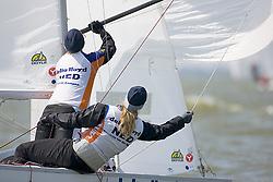 08_00984 © Sander van der Borch. Medemblik - The Netherlands,  May 21th 2008 . First day of the Delta Lloyd Regatta 2008.