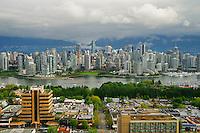 Vancouver Skyline, False Creek & Overcast (Overcast)