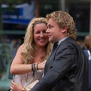NLD/Amstelveen/20140610 - TROS Muziekfeest op het Plein 2014 Amstelveen, Wesly Bronkhorst en partner .....