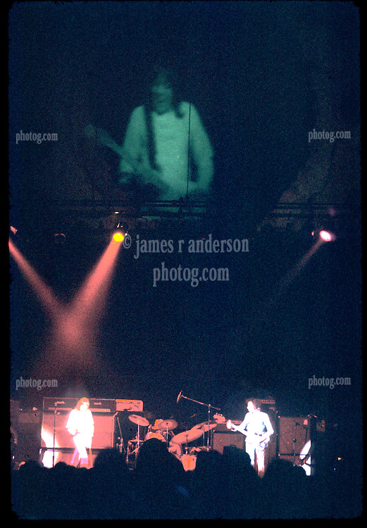 Robin Trower playing The Winterland Ballroom in Concert, Nikon Ftn camera, Nikkor 35mm f/2 lens, 10 August 1973