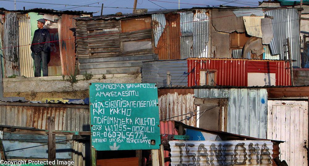 Khayalitscha Township, Cape Town, South Africa.<br /> Photo by Shmuel Thaler <br /> shmuel_thaler@yahoo.com www.shmuelthaler.com