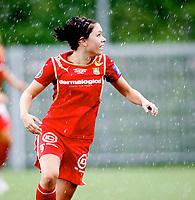 Fotball , <br /> Toppserien kvinner , <br /> 18.05.08 , <br /> Røa kunstgress stadion , <br /> Dynamite Girls Røa - Arna Bjørnar , <br /> Lise Meistad , <br /> Foto: Thomas Andersen / Digitalsport