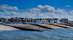 People playing in the sea off Whitstable, Kent England<br /> <br /> (c) Andrew Wilson | Edinburgh Elite media