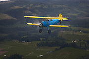 Stearman 70 over the Hood River Valley.