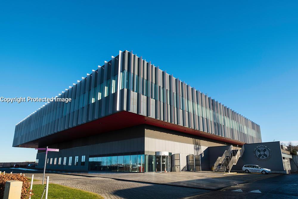 Modern laboratory building for the University of Edinburgh's Centre for Regenerative Medicine at the bioQuarter in Edinburgh, Scotland, United Kingdom