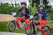 2021 UCI BMXSX World Cup 1&2<br /> Verona (Italy) - Friday Practice<br /> ^we#6 STANCIL, Felicia (USA, WE) Ssquared, AnswerBMX, TLD<br /> ^we#217 RIDENOUR, Payton (USA, WE) Mongoose, E6 Wheels