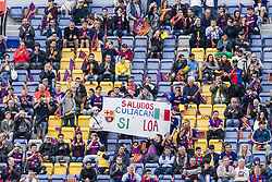 May 6, 2018 - Barcelona, Catalonia, Spain - FC Barcelona fans from Sinaloa during the match between FC Barcelona v Real Madrid, for the round 36 of the Liga Santander, played at Camp nou  on 6th May 2018 in Barcelona, Spain. (Credit Image: © Urbanandsport/NurPhoto via ZUMA Press)