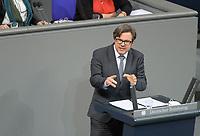 DEU, Deutschland, Germany, Berlin, 27.01.2021: Dr. Martin Rosemann (SPD) in der Plenarsitzung im Deutschen Bundestag.